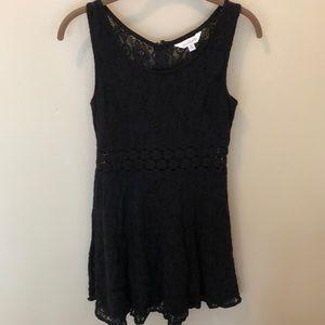 Charming Charlie Black Lace Dress